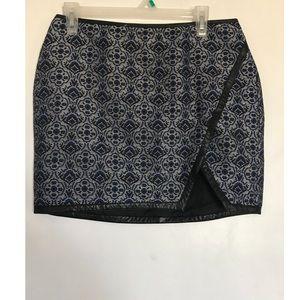 Knit express mini skirt